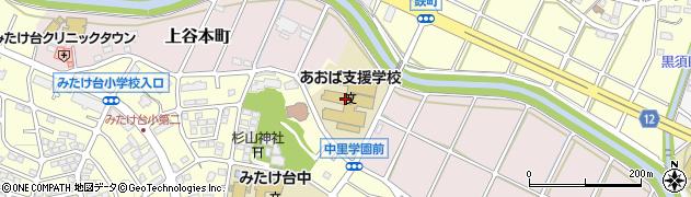 神奈川県横浜市青葉区上谷本町109周辺の地図