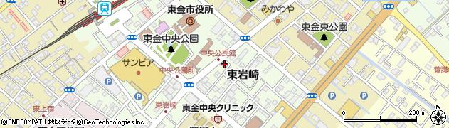 ITTO個別指導学院 東金中央校周辺の地図