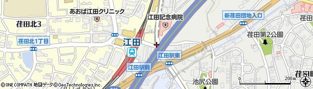 荏田北3丁目入口周辺の地図