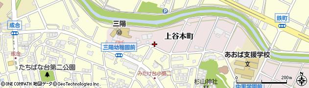 神奈川県横浜市青葉区上谷本町114周辺の地図