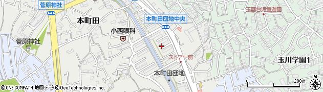 都住宅供給公社本町田住宅周辺の地図