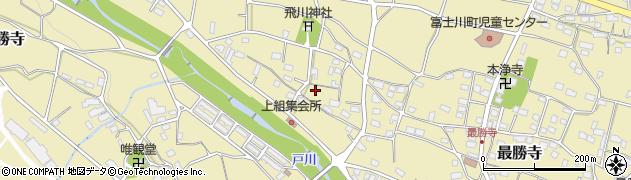 山梨県南巨摩郡富士川町最勝寺上町周辺の地図
