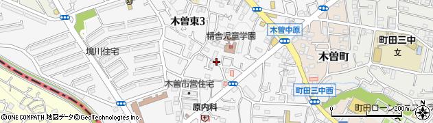東京都町田市木曽東周辺の地図