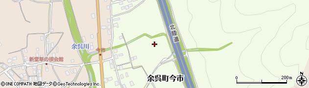 滋賀県長浜市余呉町今市周辺の地図