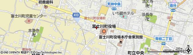 山梨県南巨摩郡富士川町周辺の地図