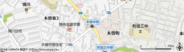 木曽中原周辺の地図
