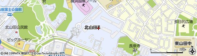 神奈川県横浜市都筑区北山田7丁目4周辺の地図