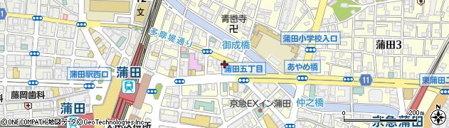 ダーツバーT's周辺の地図