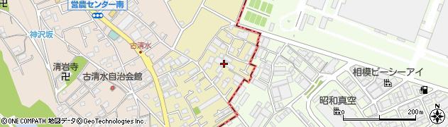 神奈川県相模原市緑区田名周辺の地図