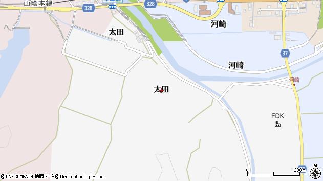 〒681-0063 鳥取県岩美郡岩美町太田の地図