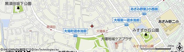 神奈川県横浜市青葉区大場町周辺の地図