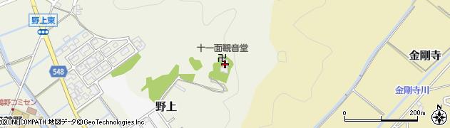 帯雲寺周辺の地図