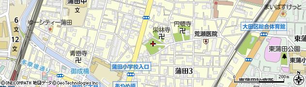 稗田神社周辺の地図