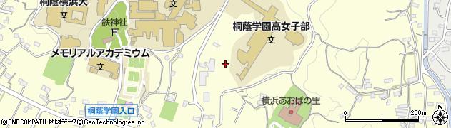 神奈川県横浜市青葉区鉄町周辺の地図