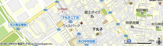 玉乃家周辺の地図