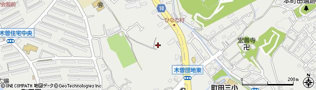 東京都町田市本町田周辺の地図