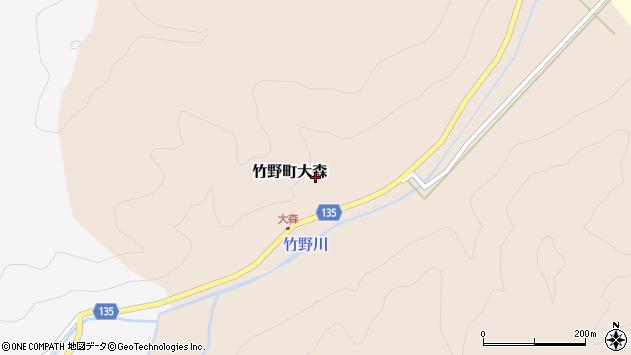 〒669-6352 兵庫県豊岡市竹野町大森の地図