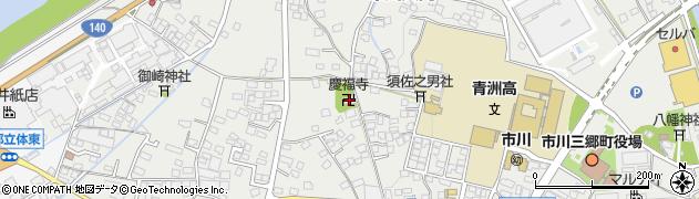 慶福院周辺の地図