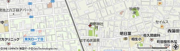 蓮花寺周辺の地図