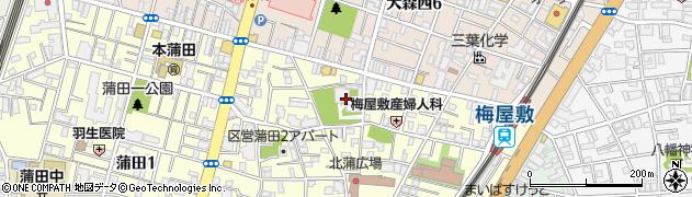 妙典寺周辺の地図