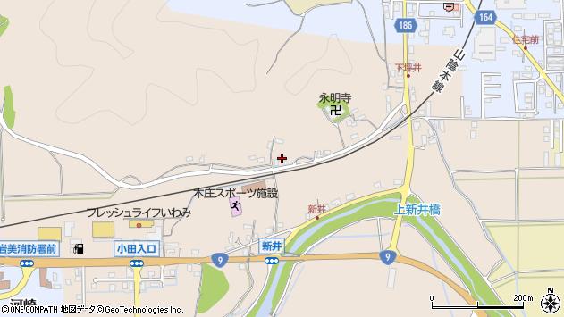 〒681-0065 鳥取県岩美郡岩美町新井の地図