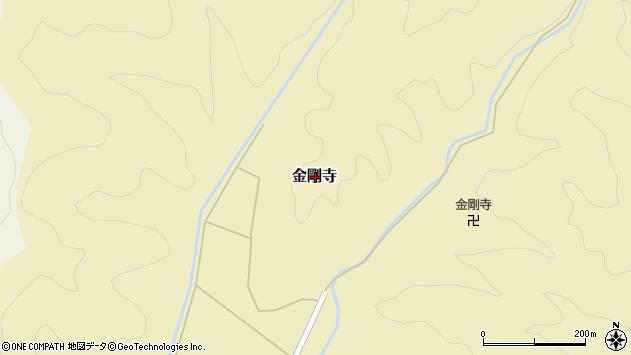 〒668-0802 兵庫県豊岡市金剛寺の地図