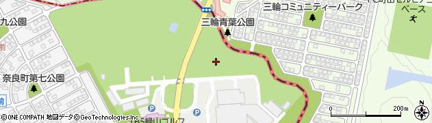 神奈川県横浜市青葉区緑山周辺の地図