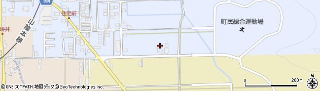 ゲストハウスととり周辺の地図