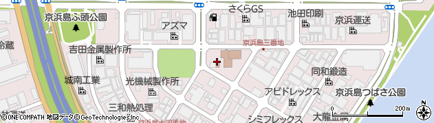 京浜島勤労厚生会館 レストランたんぽぽ周辺の地図