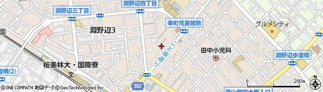 神奈川県相模原市中央区淵野辺周辺の地図