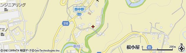 神奈川県相模原市緑区根小屋周辺の地図