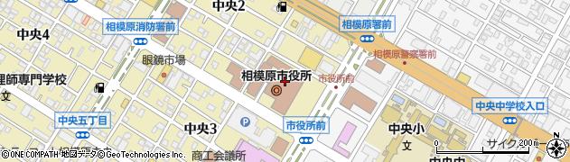 相模原市周辺の地図