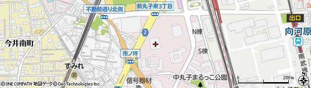 ザ・クラッシィタワー周辺の地図