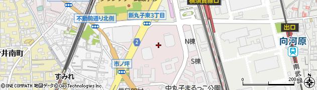 リエトコート武蔵小杉周辺の地図