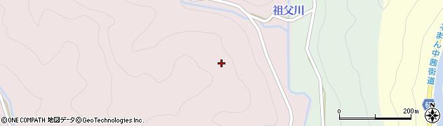 岐阜県関市下之保(百々目木)周辺の地図