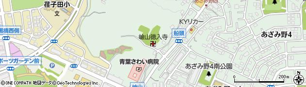 徳入寺周辺の地図