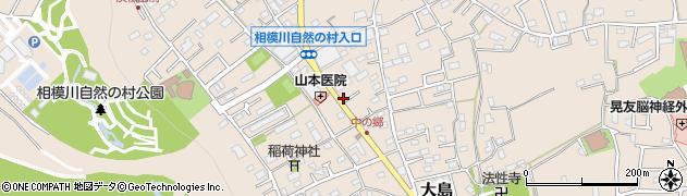 神奈川県相模原市緑区大島周辺の地図