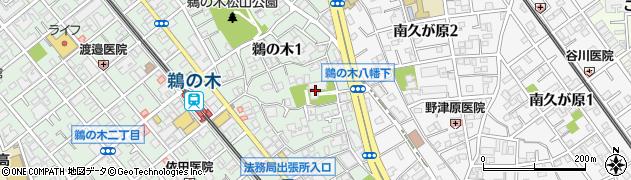 増明院周辺の地図