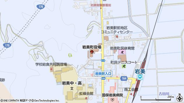 〒681-0000 鳥取県岩美郡岩美町(以下に掲載がない場合)の地図