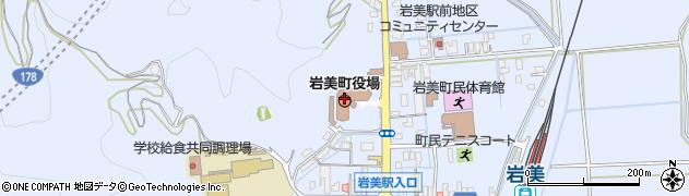鳥取県岩美町(岩美郡)周辺の地図
