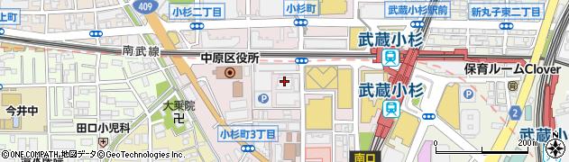 ユニオンビル周辺の地図
