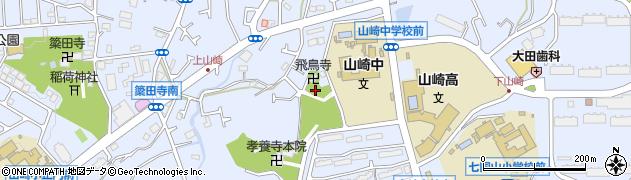 飛鳥院周辺の地図