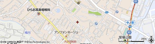 神奈川県相模原市緑区下九沢周辺の地図