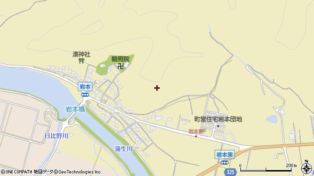 〒681-0072 鳥取県岩美郡岩美町岩本の地図