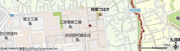 神奈川県相模原市中央区淵野辺2丁目周辺の地図
