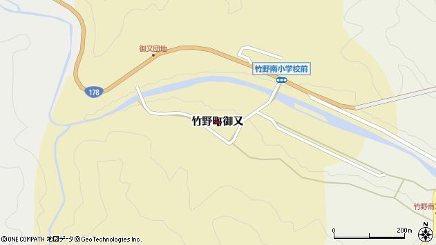 〒669-6333 兵庫県豊岡市竹野町御又の地図