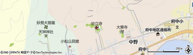 妙立寺周辺の地図