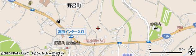 千葉県千葉市若葉区野呂町周辺の地図
