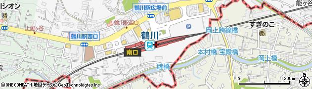 東京都町田市周辺の地図
