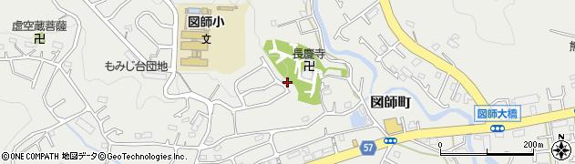 東京都町田市図師町周辺の地図